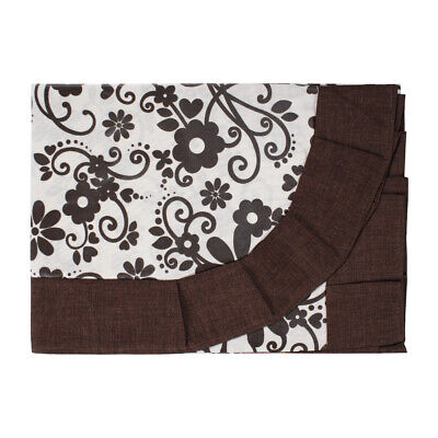 Tablecloths Table Table Covers Loneta Plasticized Floral Brown 6 12 Posti ()