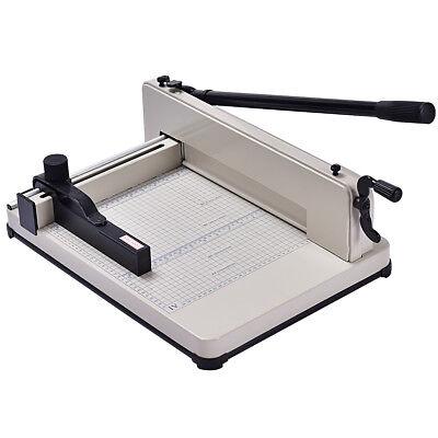 12 Inch A4 Paper Cutter Guillotine Trimmer Cutting Machine Heavy Duty 400 Sheets