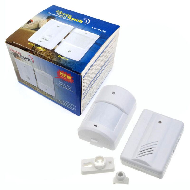 Driveway Patrol Garage Motion Sensor Alarm Infrared Wireless Alert Secure