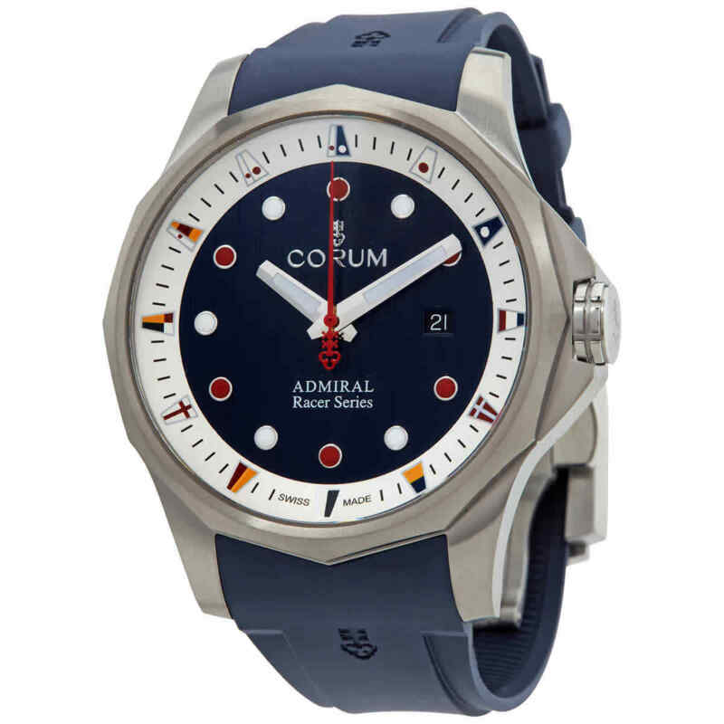 Corum Admiral Cup Racer Automatic Blue Dial Men Watch A411/04093
