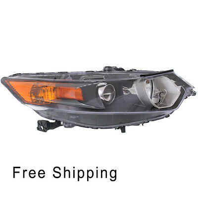 Head Lamp Lens and Housing Passenger Side Fits 2009-2014 Acura TSX AC2503118
