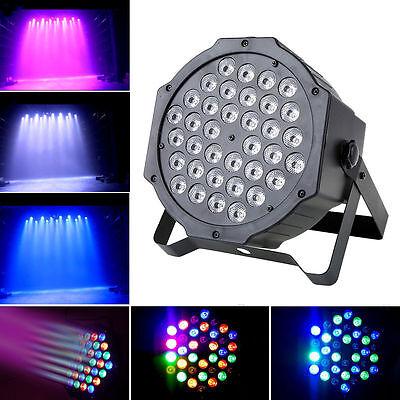 36W RGB 36x LED Par Stage Light DMX DJ Disco Party Laser Projector Wash Lighting