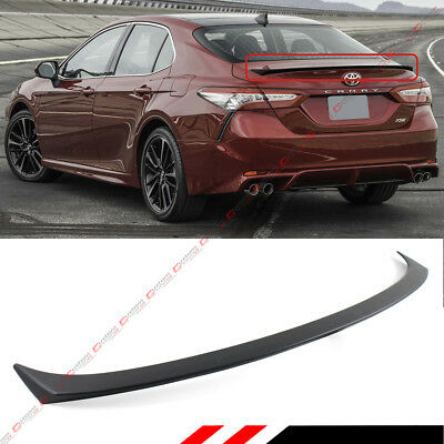 FOR 2018 TOYOTA CAMRY LE XLE SE HYBRID SPORT STYLE REAR TRUNK LID SPOILER (Toyota Camry Trunk Wing)