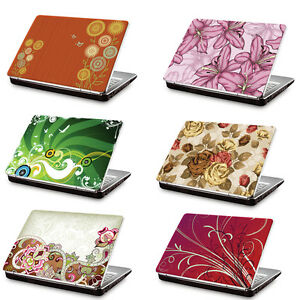 """Clublaptop Laptop Skin Sticker 15.6"""" Floral for Dell Sony ..."""