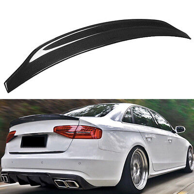 Carbon Fiber Highkick Trunk Lid Spoiler Wing Cat Style For 2008-2016 AUDI A5