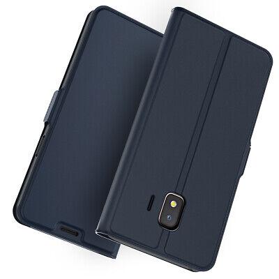 Leder Tasche für Samsung Galaxy J2 Core HandyHülle Wallet Cover Etui Flip hülle (Etui Samsung Galaxy Core 2)