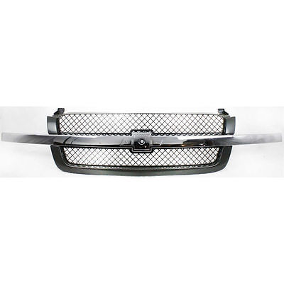 Chevy Silverado Pickup 1500 Avalanche Truck 03-07 Front Grille Chrome Black New