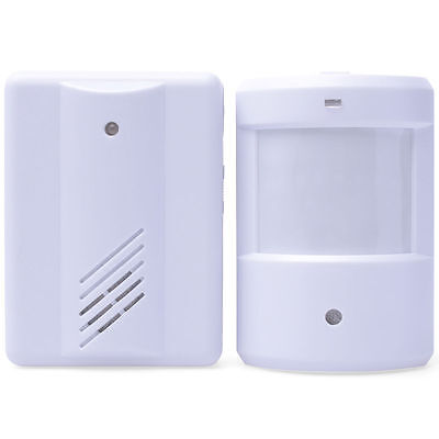 Mini Visitor Door Entry Chime Motion Beam Security Shop Alert Bell