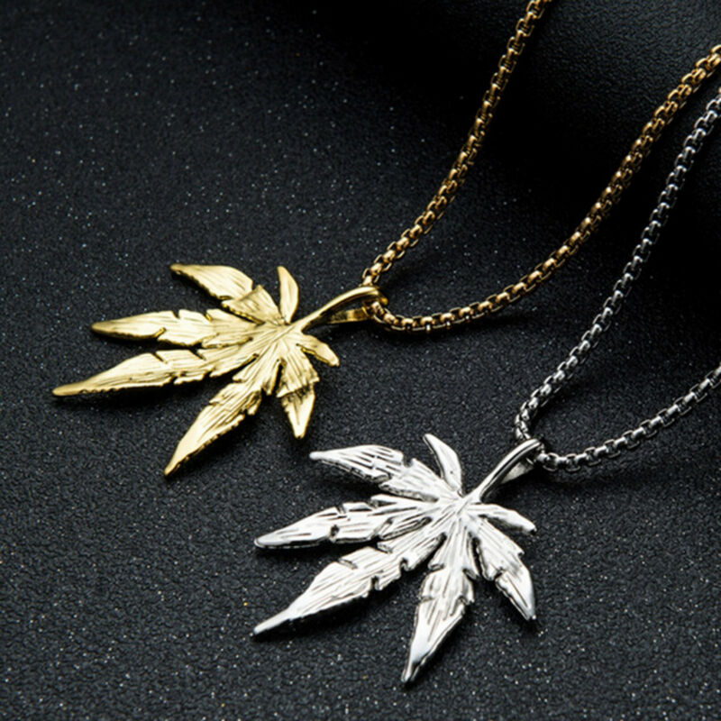 BFF Gift Best Friend Necklaces Charms Leaf Charms Charm Necklace Best Friend,2 Necklaces Stainless Steel Necklace Maple Leaf Necklace