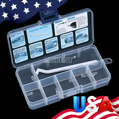 1 Kit Dental Orthodontic Lingual Accessories Injection Mould Mini 6pcs Handle