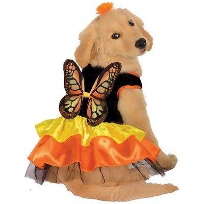 Monarch Butterfly Pet Costume Dog Halloween Fancy Dress
