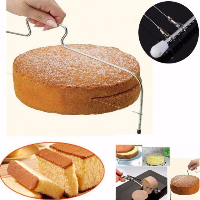 Cake Cutter Leveller Leveler Decorating Wire Slicer Cutting Decorator Tools