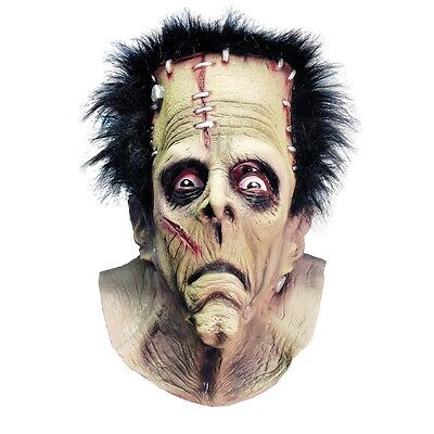 Frankenstein Mask Adult Scary Monster Halloween Costume Fancy Dress