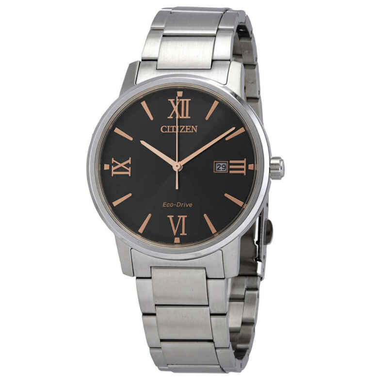 Citizen-Eco-Drive-Black-Dial-Stainless-Steel-Watch-BM6757-84H