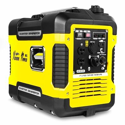 2000 watt portable digital inverter quiet generator