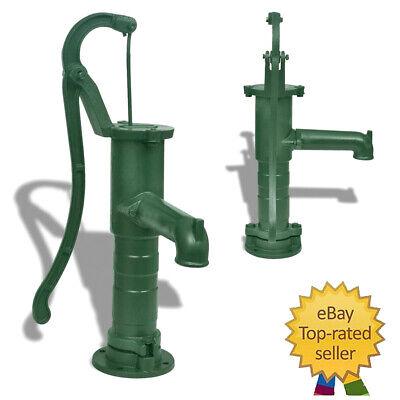 Cast Iron Garden Hand Water Pump Farm Irrigation For Home Patio Yard Vintage New