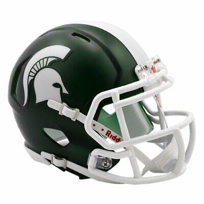 Riddell Michigan State Spartans NCAA Replica Speed Mini Football Helmet - Michigan State Spartans Helmet