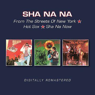 Sha Na Na From The Streets Of New York/Hot Sox/Sha Na Now 2-CD NEW SEALED 2017