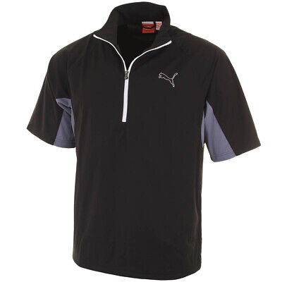 Puma Golf Men's 568306 Short Sleeve Storm Jacket - XS - Black