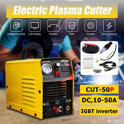 Non-touch Pilot Arc Plasma Cutter 110v220v Cut50amp Pilot Arc Inverter Igbt