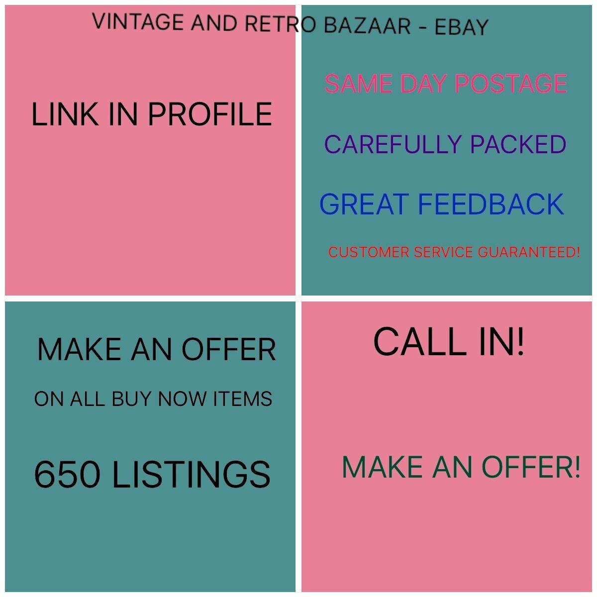 Vintage and Retro Bazaar
