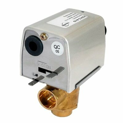 Valemo V3313-a10 Motorized Zone Valve 3-way 34 Sweat 24 Vac No End Switch