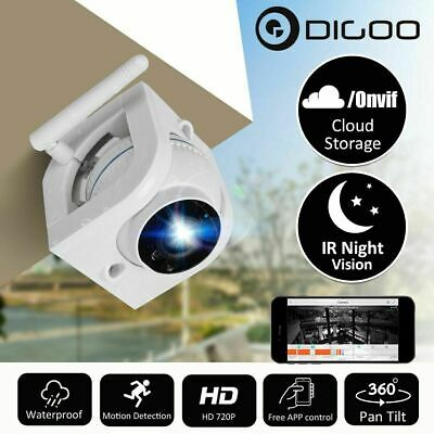 Digoo DG-W02f 720P HD Outdoor WIFI Security IP Camera Cloud