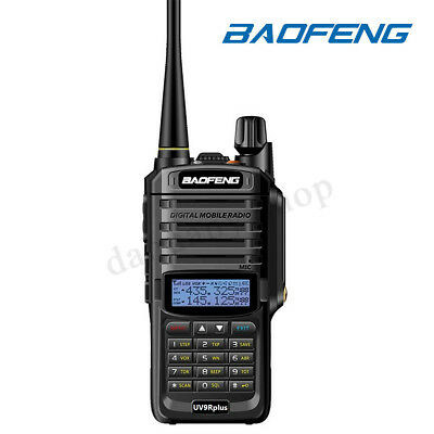 (15W BAOFENG UV-9R Plus Walkie Talkie VHF UHF Dual Band Handheld Two Way Radio)