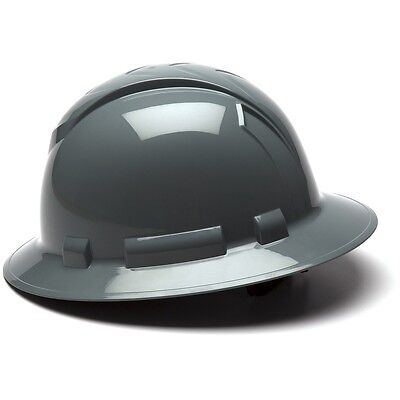 19bcb2354d5  15.68 USD Buy It Now. Pyramex Full Brim Hard Hat with 4 Point Ratchet  Suspension ...