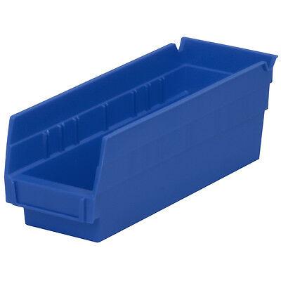 Akro-mils 30120blue Blue Shelf Bin 11-58d X 4-18w X 4h 24pk
