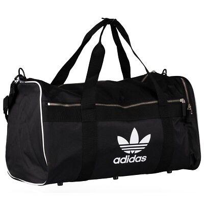 eaabdeb99b88e Adidas adicolor Duffelbag L Tasche Original Reisetasche Sporttasche black  CW0618