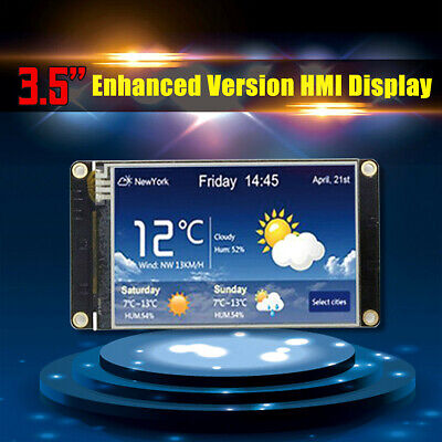3.5 Nextion Enhanced Hmi Lcd Module Display Intelligent Smart Usart Serial New