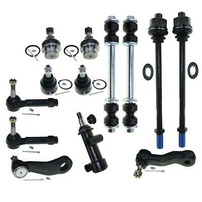 For Chevy Silverado 1500 4WD 99-06 Suspension Kit Ball Joints Tie Rods Sway Bar