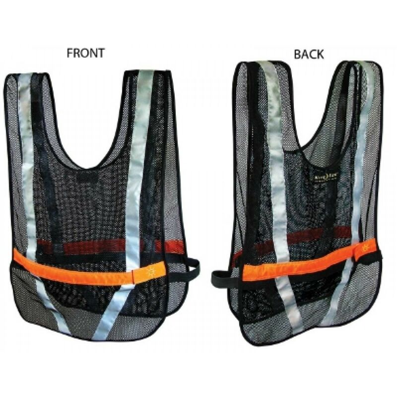 Nite Ize NRV2-08-10 Sport Vest - Red LED Black Mesh OSFA