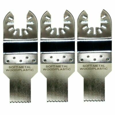 3 X 34 Fine Tooth Oscillating Tool Blades - Bosch Multi-x Compatible