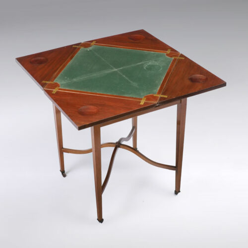 Antique RARE Envelope Game Table Likely 19th Century