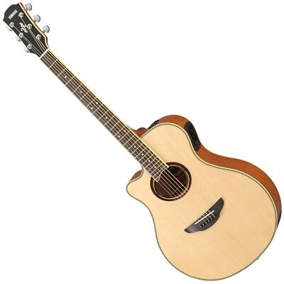 Yamaha APX700IIL Left-Handed Thinline Acoustic-Electric Guitar - Natural, used for sale  Franklin