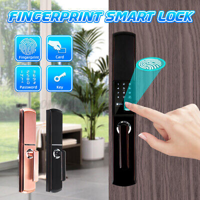 Electronic Smart Door Lock Fingerprint Touch Digital Passwor