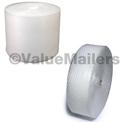 350 Ft Bubble Roll Foam Combo (1) 3/16 x 175 x12 Bubble (1) 1/16 x 175 x12 Wrap