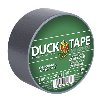 Duck 1.88x20yd Duct Tape General Purpose - Gray