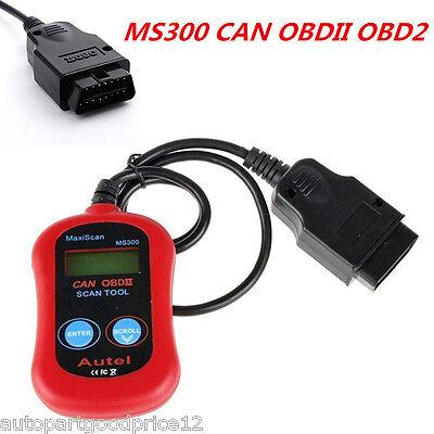 Ms300 Car Diagnostic Scanner Can Obdii Tester Elm327 Obd2 Code Reader Scan Tool
