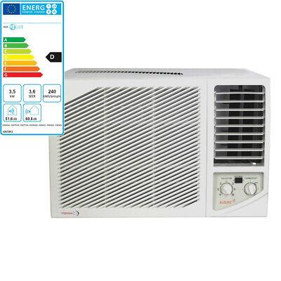 Fensterklimagerät Einbau Kompakt-Klimagerät Klimaanlage Klima Wandgerät 3,5
