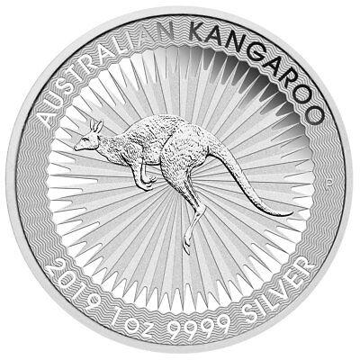 2019-P 1 oz. Australia Silver Kangaroo $1 Coin GEM BU PRESALE SKU55521
