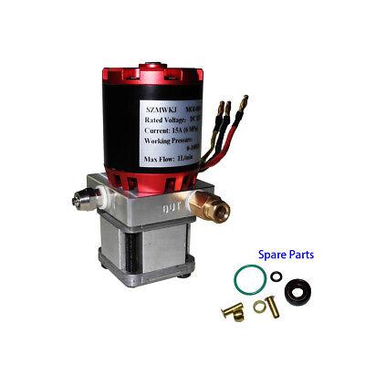 Single Acting 12v Hydraulic Oil Pump Power Pack Unit Dump Trailer Auto Lift Ig