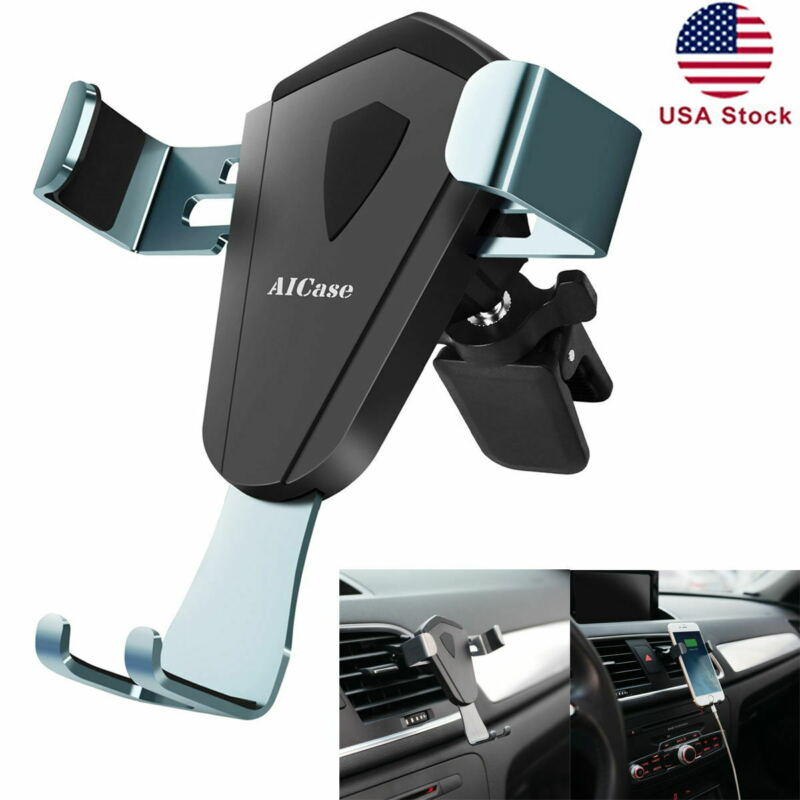 Gravity Car Mount Phone Holder Air Vent for iPhone 12 11 Pro XS Max X XR 8 7 6 5