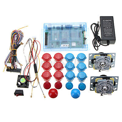 DIY Arcade Kit 1299 Game Pandora's Box 5S 2 Joysticks Push Button Game Board Set