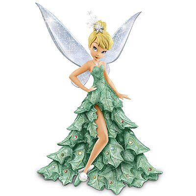 Bradford Exchange Disney Christmas Tree Tink Tinker Bell from Peter Pan NEW