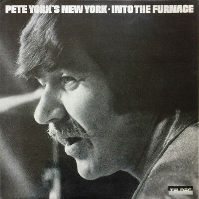 Pete York's New York ‎– Into The Furnace 1980 TELDEC ‎– 6.24463 SOUL JAZZ ROCK