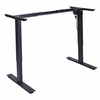 New Electric Stand Up Desk Frame w/Single Motor Adjustable Height  Standing Base Adjustable Stand Up Desk
