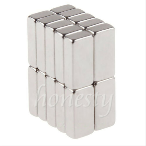 10pcs Super Strong Block Square Rare Earth Neodymium Magnets 10 x 5 x 3mm